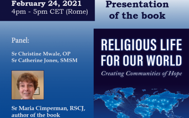 Religious Life for our World event flyer