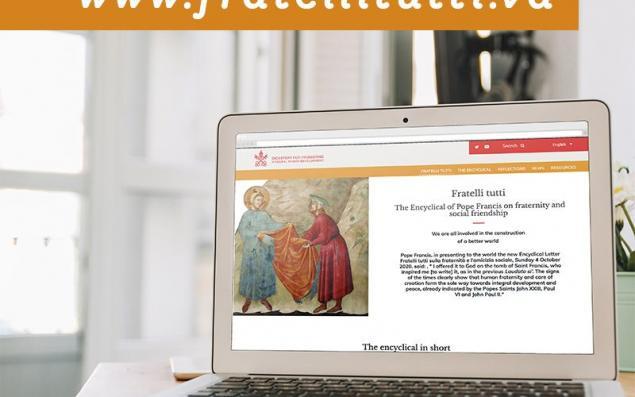 Fratelli Tutti website