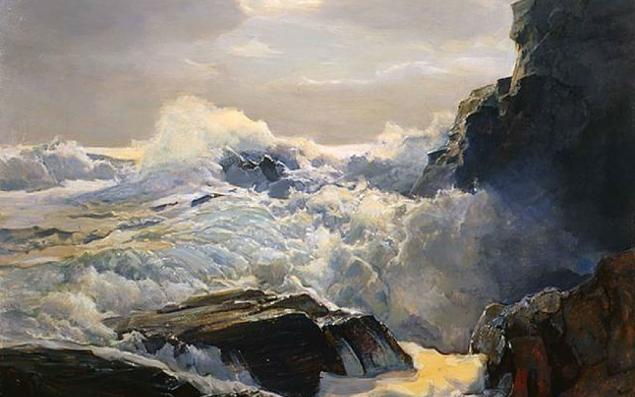 Frederick Judd Waugh - Crashing Waves