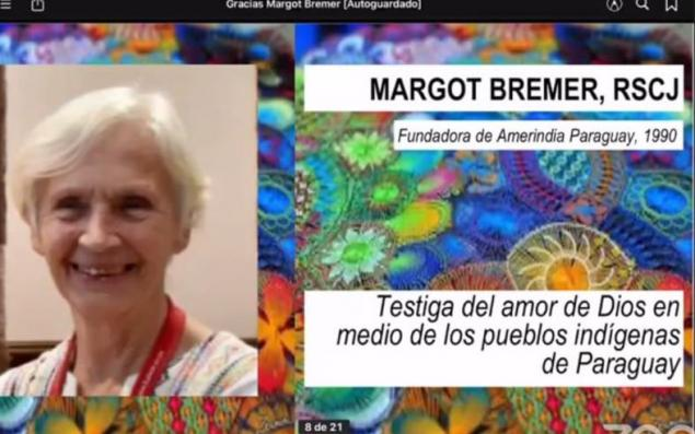 Margot Bremer RSCJ honored for her work