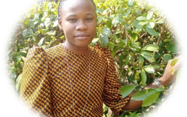 Postulante Prisca Mansanga