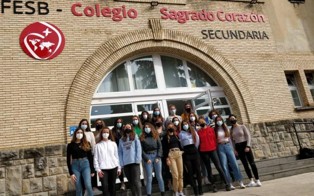 Sacred Heart School of Pamplona wins national immigration award