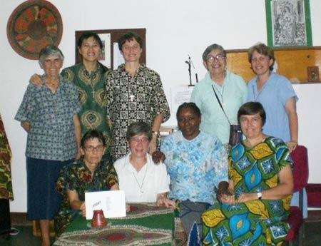 RSCJ community in Chad (2009)