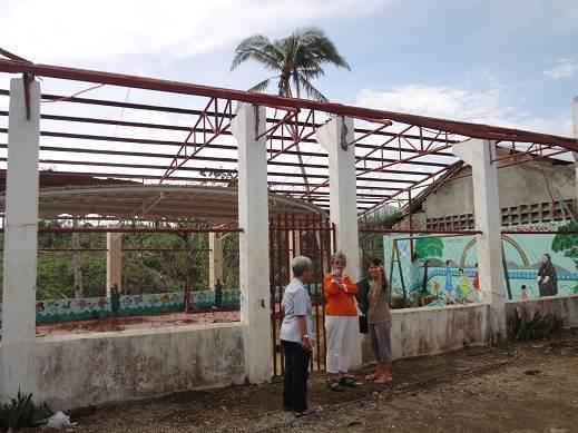 Cour de récréation de SHCEC sans toit