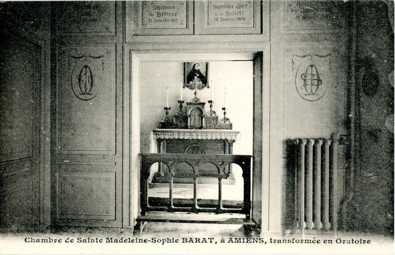 Chambre de Ste. Madeleine Sophie Barat