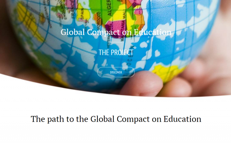 Global Compact on Education website