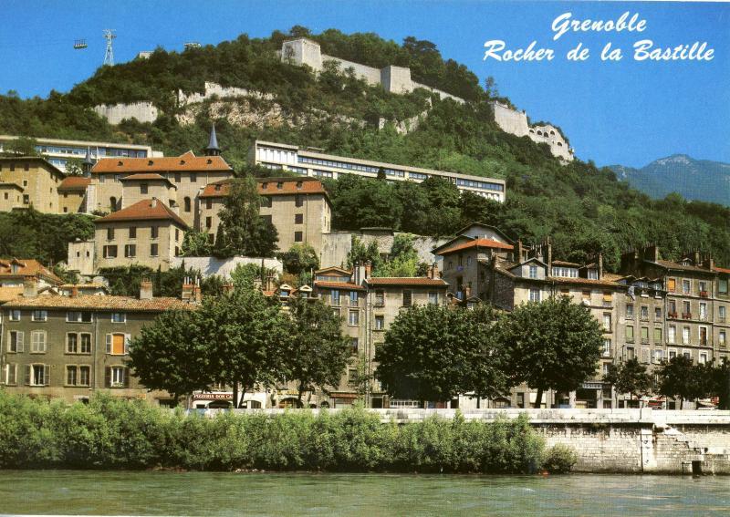 Grenoble - Rochelle de la Bastille