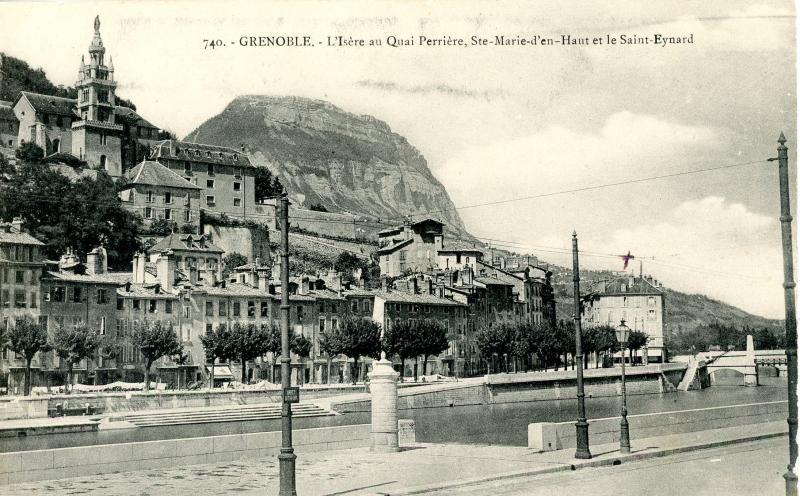 Sainte  Marie d'En Haut, Grenoble - avec St. Eynard