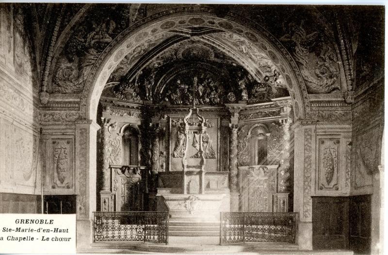 Sainte Marie d'En Haut, Grenoble - chapelle