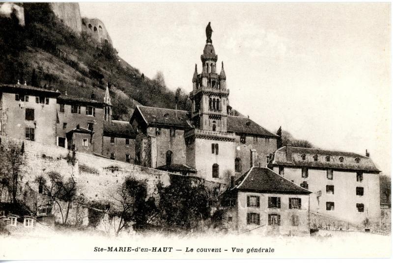 Sainte Marie d'En Haut, Grenoble - vue générale du couvent
