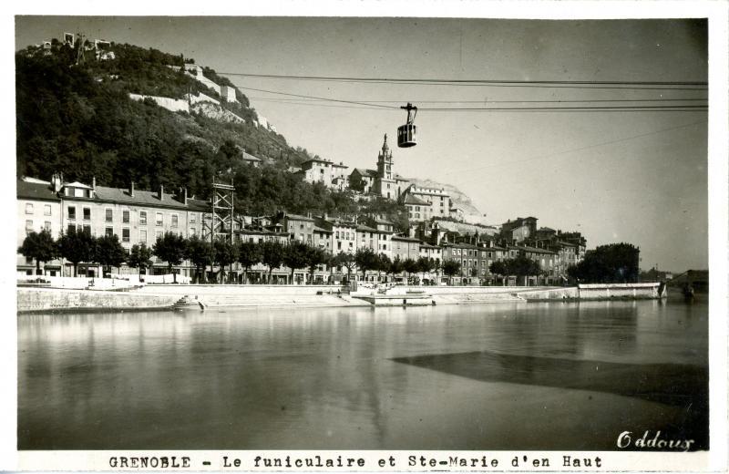 Sainte Marie d'En Haut, Grenoble - funiculaire
