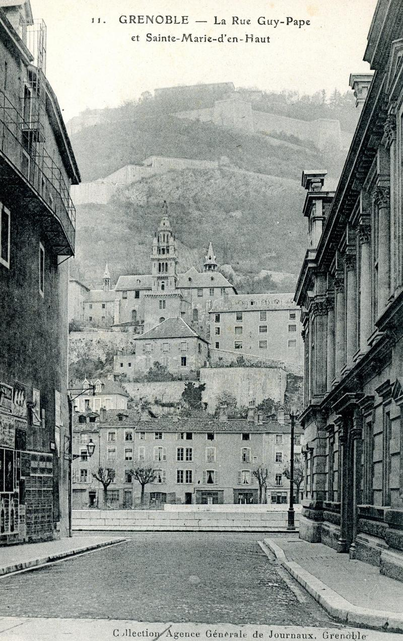 Sainte Marie d'En Haut, Grenoble - rue Guy Pape