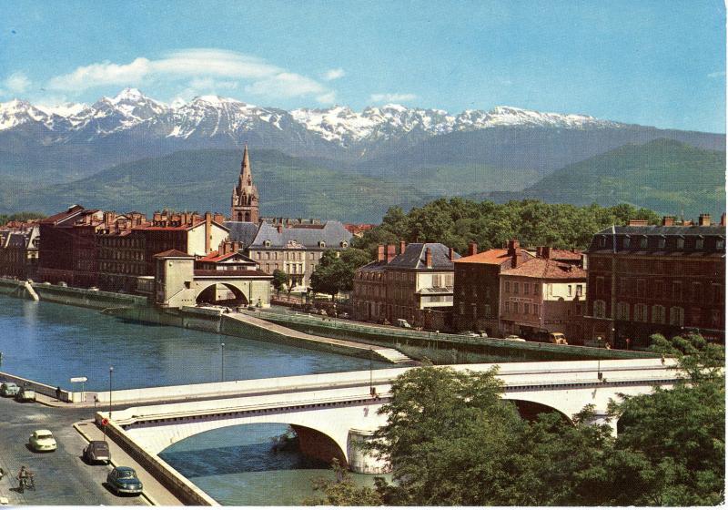 Sainte Marie d'En Haut, Grenoble - vue