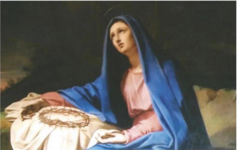 Notre-Dame des Douleurs, Villa Lante, Rome