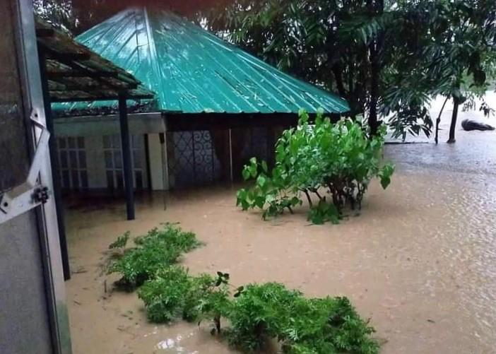 Philippines typhoon - Montalban RSCJ community