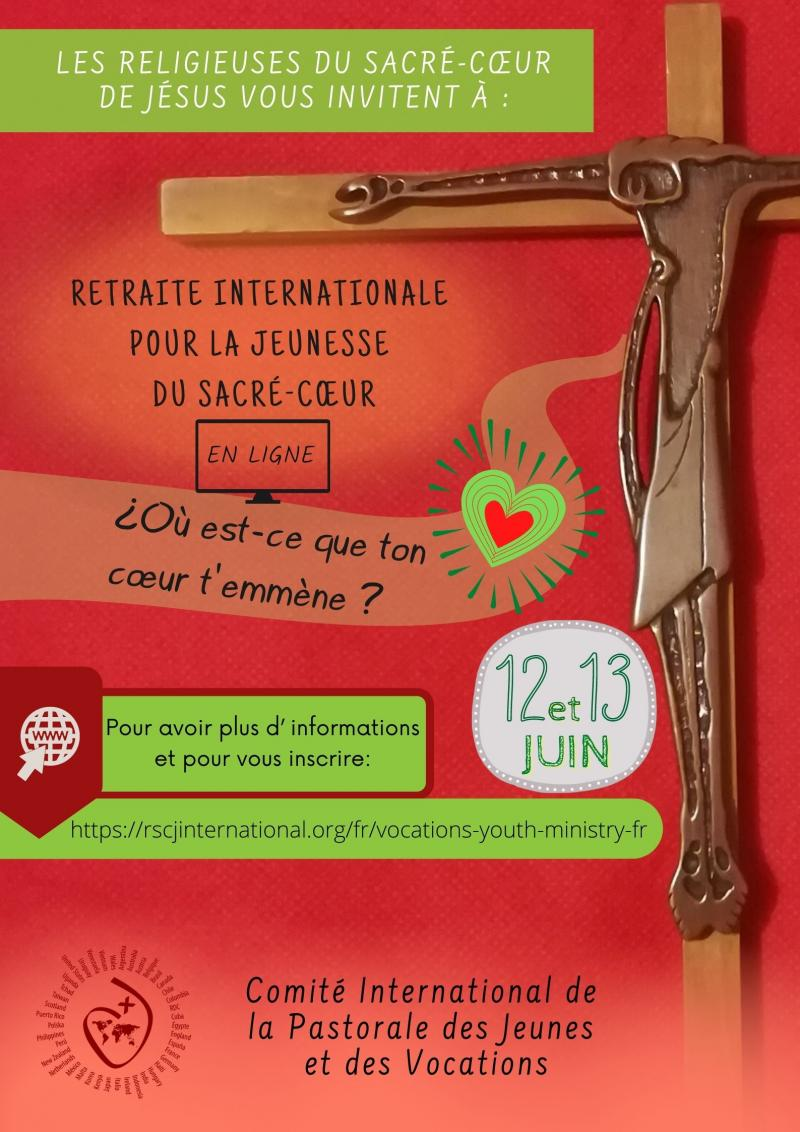Retreat flyer in French