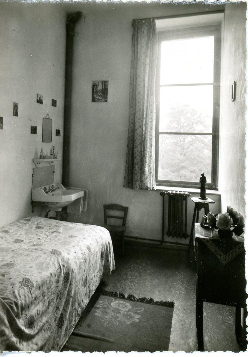 Une chambre de pensionnat