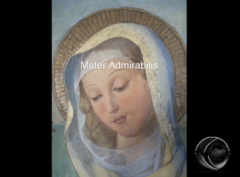 Mater Admirabilis oraciones