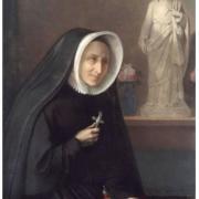 Madeleine Sophie praying