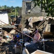 Aftermath of Typhoon Ulysses