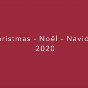 Christmas - Noël - Navidad 2020