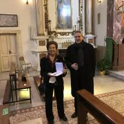 Federica Rossi Germani receives Pro Ecclesia et Pontifice Cross