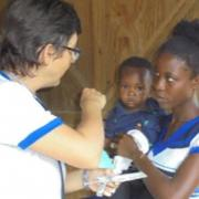 Getting medical help in Haiti