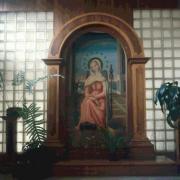 Photo de Mater, dans la chapelle du Collège Madalena Sofia, à Curitiba - PR (Brésil)