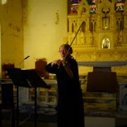 Genevieve Behan performing
