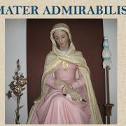 Statue of Mater Admirabilis in Guadalajara, Mexico